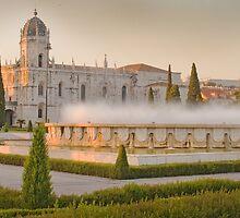 Praça do Império. Mosteiro dos Jerónimos. sunset by terezadelpilar~ art & architecture