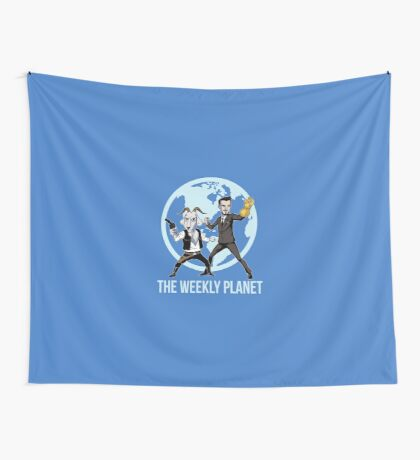 The Weekly Planet Wall Tapestry