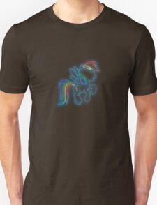 Rainbow Dash Neon Glow Lights T-Shirt