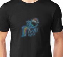 Rainbow Dash Neon Glow Nights Unisex T-Shirt
