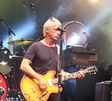 Paul Weller live Sticker
