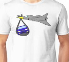 Saab Born From Jets Unisex T-Shirt