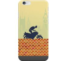 Funny biker VRS2 iPhone Case/Skin