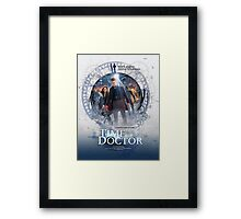 Doctor Who - Time of the Doctor Framed Print