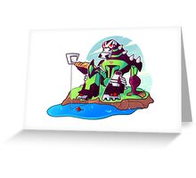 Fishin Lockdown Greeting Card