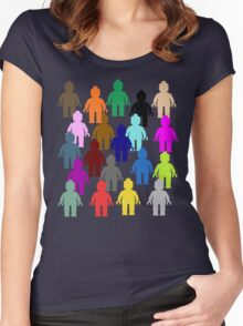 United Colors of Minifig [Large]  Women's Fitted Scoop T-Shirt