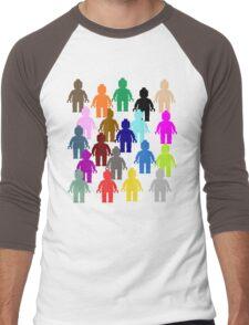 United Colors of Minifig [Large]  Men's Baseball ¾ T-Shirt