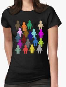United Colors of Minifig [Large]  Womens Fitted T-Shirt