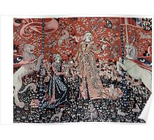 Lady & the Unicorn Tapestry Poster