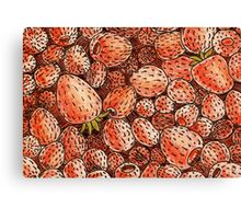 Sweet Strawberry Canvas Print