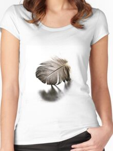 Feather Fracture Women's Fitted Scoop T-Shirt