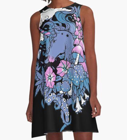 - Magical Unicorn - A-Line Dress