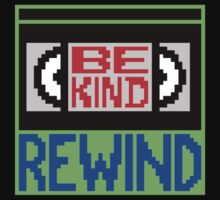 Be Kind Rewind One Piece - Short Sleeve