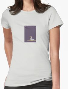Star Duck Dreamer Womens Fitted T-Shirt