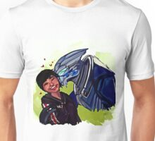 Shepard and Garrus Unisex T-Shirt