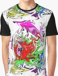 Liquified Mess by spiritualarty Graphic T-Shirt