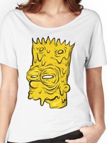 Bart simpson melted Women's Relaxed Fit T-Shirt