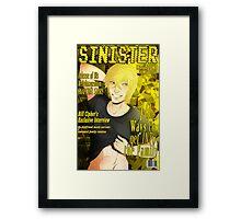 Bill Cipher- Sinister Framed Print