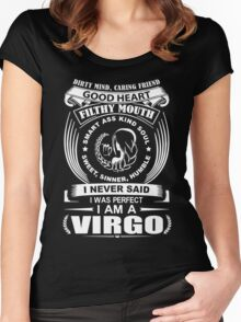 I Am An Virgo Funny T-Shirt Women's Fitted Scoop T-Shirt