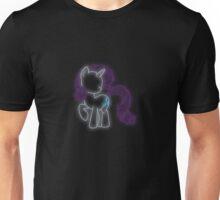 Rarity Neon Glow Lights Unisex T-Shirt