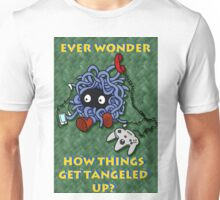 Ever Wonder How Things Get Tangled? Unisex T-Shirt