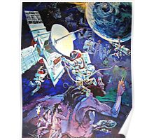 Spaceship Earth Mural Poster
