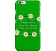 Blessing - With a Touch of Irish Humour! iPhone Case/Skin