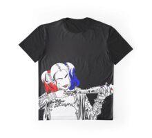 Harley Quinn Minimalism Graphic T-Shirt