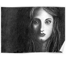 Shadow Portrait Poster
