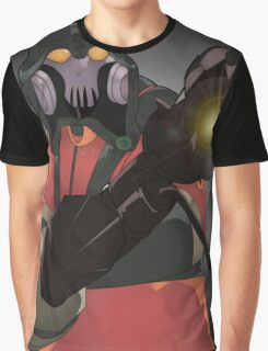 Team Fortress 2 Pyro Concept Art Poster Graphic T-Shirt