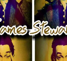 James Stewart Grid Sticker