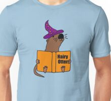 Smiletodaytees Sea Otter Reading Book Hairy Otter Unisex T-Shirt