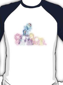 Pony Friends Neon Glow Lights T-Shirt
