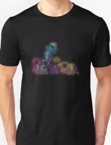 Pony Friends Neon Glow Lights T-Shirt