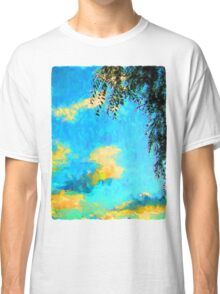 Yellow Clouds above the Treetops 2 Classic T-Shirt