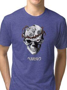 Berserker Skull Tri-blend T-Shirt