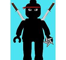 Ninja Minifig / TMNT Foot Soldier Photographic Print