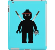 Ninja Minifig / TMNT Foot Soldier iPad Case/Skin