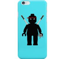 Ninja Minifig / TMNT Foot Soldier iPhone Case/Skin