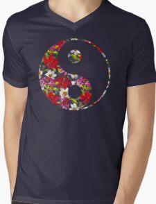 Yin Yang  Mens V-Neck T-Shirt
