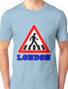 LONDON-ZEBRA CROSSING Unisex T-Shirt