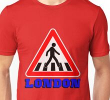 LONDON-ZEBRA CROSSING Unisex T-Shirt