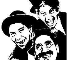 The Marx Brothers by Ant-Acid