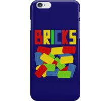 Colored Bricks iPhone Case/Skin