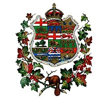 1905 Canadian Coat of Arms Photographic Print