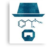 Breaking Bad Heisenberg Chemical Canvas Print