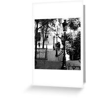 Montmartre Staircase Greeting Card
