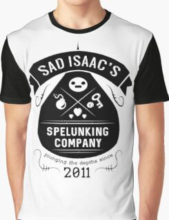 Sad Isaac's Spelunking Company Graphic T-Shirt