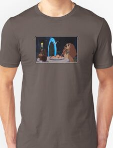 Lady and the Tramp-oline Unisex T-Shirt