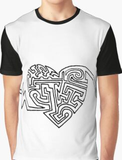 Maze of the Heart Graphic T-Shirt